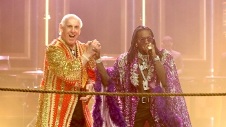 Offset Is Challenging The Rumors Online About His Friend Ric Flair Being Dead