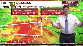 A Weatherman Went Viral After Slamming 'The Bachelorette' Viewers Who Complained About Tornado Coverage