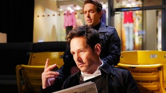 Paul Rudd Works Hard To Get On The 'SNL' Cast's Good Side In This Season Finale Promo