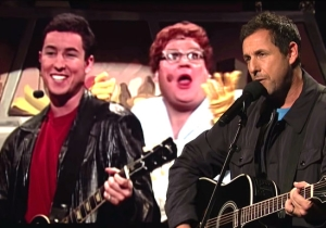Adam Sandler Made An Emotional Phone Call Before Including The Chris Farley Tribute Song In His Special