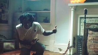 JID's Deranged Fan Forces Him To Rap For His Life In The 'Misery'-Inspired '151 Rum' Video