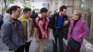 The Jonas Brothers Guested On 'Billy On The Street' And Yelled At Strangers About Their Comeback