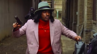 Skepta Dons A Wig And Polyester In His Action-Packed 'Greaze Mode' Video