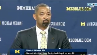 An Emotional Juwan Howard Was Officially Introduced As Michigan's Head Coach