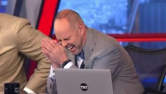 Shaq Got Very Mad On 'Inside The NBA' And Ernie, Chuck, And Kenny Just Laughed At Him
