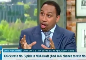 Stephen A. Smith Put On A Show After The Knicks Finished Third In The NBA Lottery