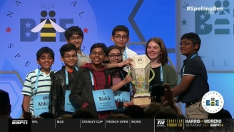 Eight Kids Were Perfect In Becoming Scripps National Spelling Bee Co-Champions