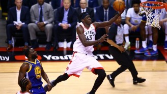 Pascal Siakam Exploded For 32 Points To Lead The Raptors To A Game 1 Win Over The Warriors