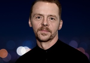 Simon Pegg On How He Approached Portraying A Schizophrenic Music Producer With Care And Grace