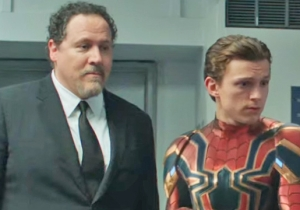 Peter Parker Tries And Fails To Ghost Nick Fury In The New 'Spider-Man: Far From Home' Trailer