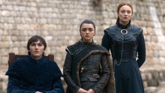 Sophie Turner Saved The Best 'Game Of Thrones' Behind-The-Scenes Photo For Last