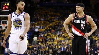Seth Curry Unsuccessfully Tried Jinxing Steph Into Missing Crucial Free Throws Late In Game 2