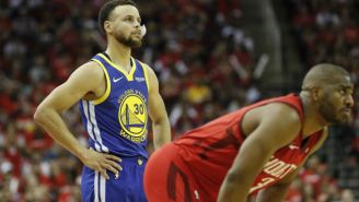 Chris Paul Kicked Steph Curry Off The Practice Court In Houston Before Game 6