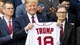 Donald Trump Apparently Told The Boston Red Sox That Abraham Lincoln Lost The Civil War