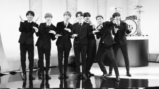 BTS Turned 'Boy With Luv' Into A Beatles Tribute For Their 'Colbert' Appearance