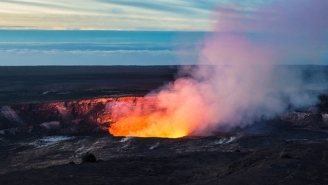 A Tourist Fell 70 Feet Into The Caldera Of An Active Volcano Because He Wanted A Closer Look
