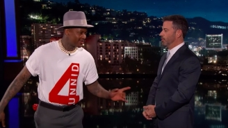 Jimmy Kimmel Translates YG's 'Go Loko' Lyrics For His 'Slang-Challenged' Viewers