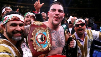 Andy Ruiz Jr. Is 'Aiming For' A Showdown With Deontay Wilder