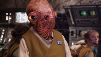 The Actor Who Played Admiral Ackbar Isn't Happy About 'Star Wars: The Last Jedi'