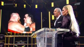 Bret Hart 'Considers Himself Lucky' After Being Attacked At The WWE Hall Of Fame Ceremony