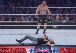 Jon Moxley Explained Why His WrestleMania 32 Match With Brock Lesnar Was A Failure