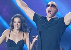 Vin Diesel Couldn't Be More Thrilled To Be Back With Michelle Rodriguez On The 'Fast And Furious 9' Set