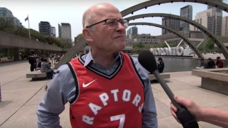 Jimmy Kimmel Let Raptors Fans Talk Some Extremely Canadian Trash About The Warriors