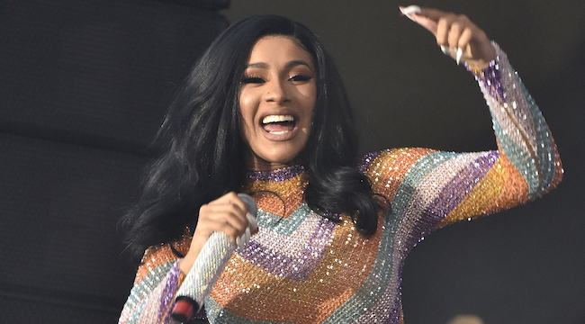 Cardi B Gives A Fan Free Cardi Tickets Forever For: Cardi B Asks Fans For Her Wig Back After Throwing It Into