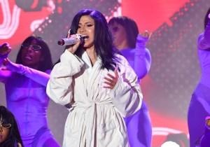Cardi B Had A Wardrobe Malfunction At Bonnaroo, So She Kept Performing In A Robe