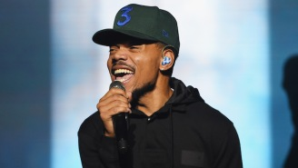 Chance The Rapper Was Honored By The WNBA's Chicago Sky As A Community Hero