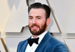 Chris Evans Shared Another Self-Deprecating 'Slam Dunk' Headshot, To The Delight Of His Fans