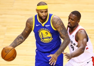 DeMarcus Cousins' Passing Gives The Warriors An Added Dynamic On Offense