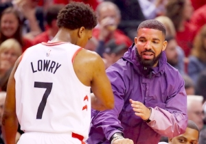 Drake Honors The Toronto Raptors' NBA Finals Win With Two New Songs, 'Omerta' And 'Money In The Grave'