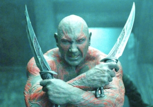 Dave Bautista Posted A Throwback Photo Of The Uncomfortable 'First Top' Worn By Drax In 'Endgame'