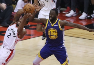 Draymond Green Explained What He Said To Drake After Game 1 Of The NBA Finals