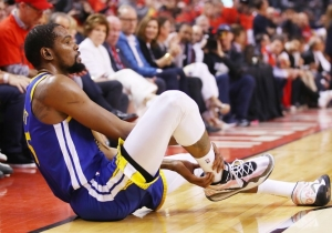 Kevin Durant Stressed That The Warriors Did Not Mishandle His Injury During The NBA Finals
