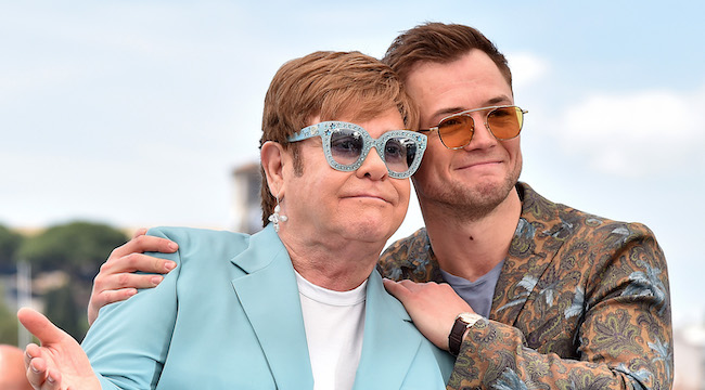 Elton John And Taron Egerton Will Perform Together At A Hybrid 'Rocketman' Screening And Concert
