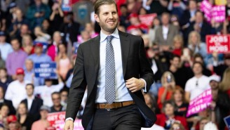 Eric Trump Isn't Getting Much Sympathy After Claiming He Was Spit Upon By A Chicago Bar Employee