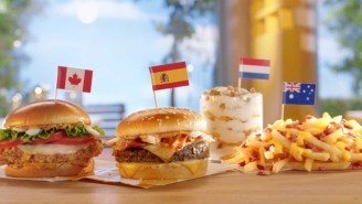 Try The New International Menu Items At McDonald's For Any Amount Of Foreign Currency This Week