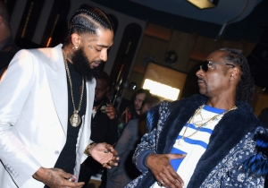 Nipsey Hussle Was Apparently Offered The Role Of Snoop Dogg In 'All Eyez On Me'