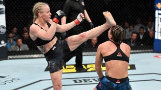 Valentina Shevchenko Knocked Jessica Eye Out Cold At UFC 238
