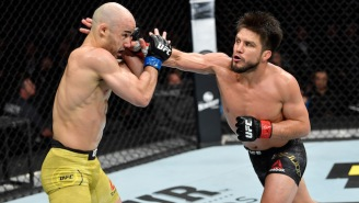 Henry Cejudo TKO'd Marlon Moraes To Claim The Bantamweight Title At UFC 238