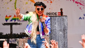 Lady Gaga Gave An Emotional Speech For LGBTQ Equality At A Stonewall Day Event In New York