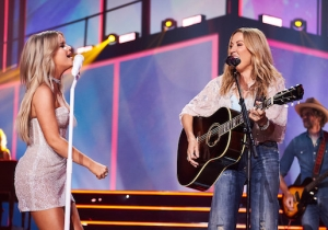 Maren Morris Performed 'Shade' And Debuted 'Prove You Wrong' With Sheryl Crow At The CMT Awards
