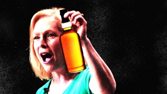 Senator Kirsten Gillibrand Says Her Favorite Comfort Food Is Whiskey