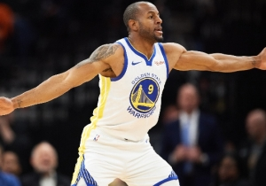 The Warriors Will Reportedly Trade Andre Iguodala To Memphis To Facilitate The D'Angelo Russell Deal