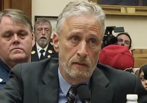 Jon Stewart Emotionally Ripped Members Of Congress Who Failed To Show Up To A 9/11 First Responders Support Hearing