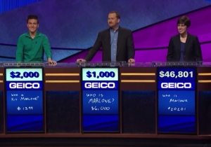 James Holzhauer's Loss Had The Highest Overnight Rating Of His 'Jeopardy!' Run