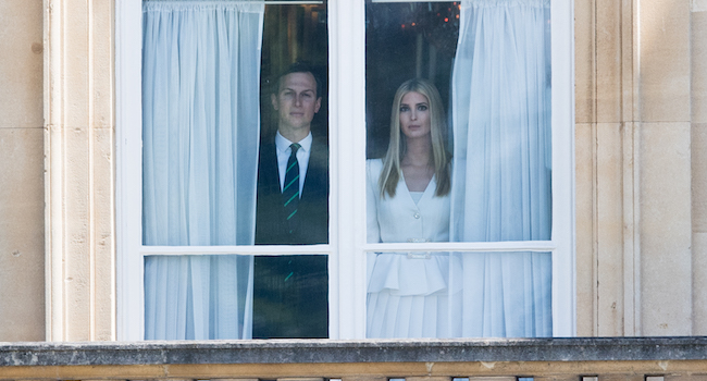 A Picture Of Ivanka Trump And Jared Kushner At Buckingham Palace Has Inspired A Hilarious Meme