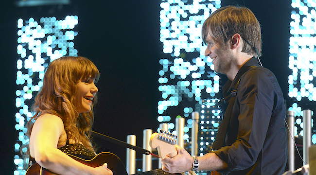 Death Cab For Cutie And Jenny Lewis Had A Mini Postal Service Reunion